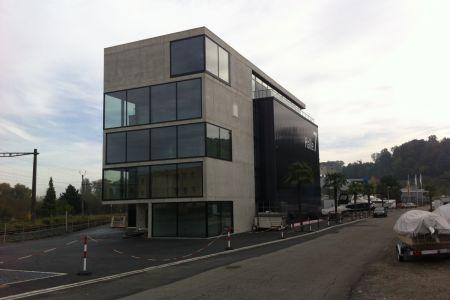 Neubau Auto-Einstellhalle in Ermatingen